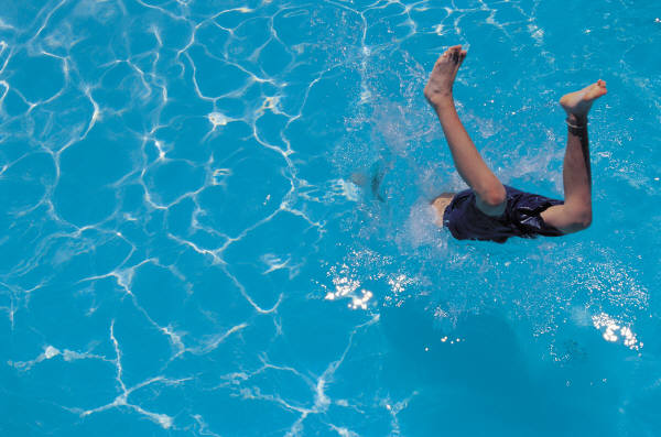 Head first into the shallow end