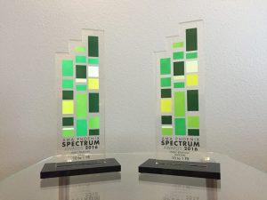 10to1pr wins 2 Spectrum Awards 2016