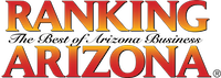 ranking arizona logo acknowledging 10 to 1 public relation's award for top phoenix public relations firm