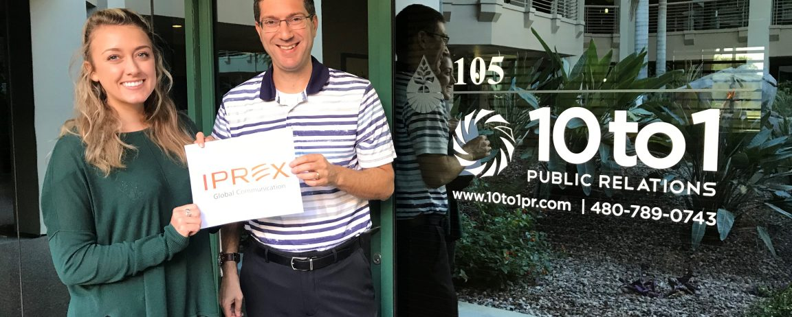 10 to 1 Public Relations Named Sole AZ Member of IPREX Global Communications Network